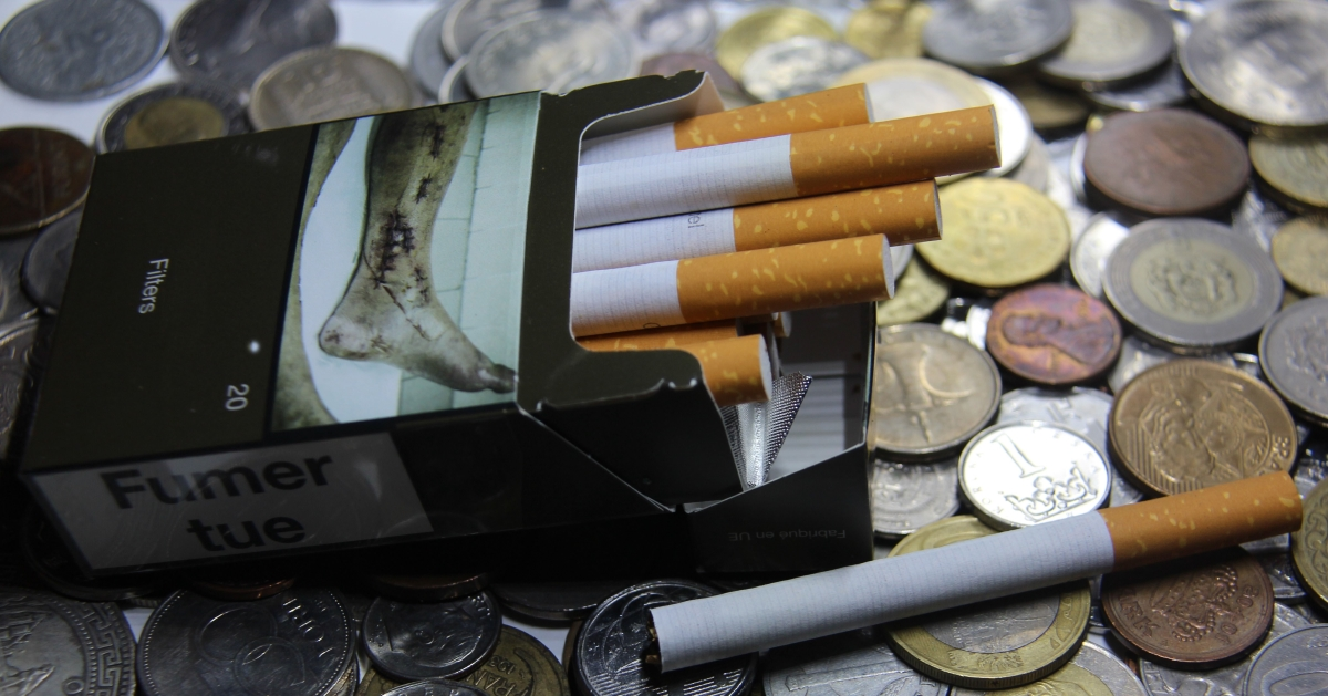 The average cost of one pack of cigarettes (Marlboro) in the world – November 2020